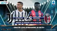 Live Streaming Juventus vs Bologna Dapat Disaksikan di RCTI+