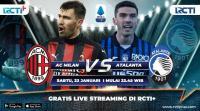 Live Streaming AC Milan vs Atalanta Bisa Disaksikan di RCTI+