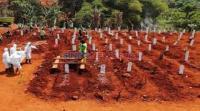 Lahan Makam Jenazah Covid-19 di TPU Bambu Apus Diprediksi Penuh Dalam 1 Bulan
