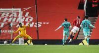 Man United vs Liverpool Imbang di Paruh Pertama