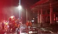 Ada 5 Kali Ledakan saat SPBU Margomulyo Surabaya Terbakar