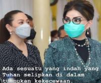 Bupati Minsel Unggah Foto Bersama Sang Adik, Netizen: Tetap Semangat Ibu Kuat