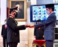 Tongkat Komando Kapolri Jenderal Listyo Sigit Ternyata Buatan Pati