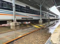 Banjir Masih Rendam Stasiun Tawang, KA Kedungsepur Gagal Berangkat