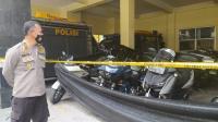 Polisi Kembalikan 19 Motor Gede Rombongan Pengeroyok Prajurit TNI