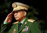 Inggris Jatuhkan Sanksi pada Panglima Tertinggi Junta Militer Myanmar
