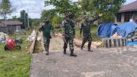 TNI Membangun Desa di Distrik Kawagit, Sasaran Pembangunan Fisik & Nonfisik