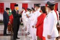 Pidato Bung Karno Menggema saat Pelantikan Bupati Wali Kota di Jateng