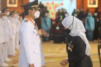 Dulu Jadi Rival, Kini Gus Ipul Dilantik Khofifah sebagai Wali Kota Pasuruan