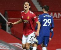 Chelsea vs Man United, Thomas Tuchel Samakan Olivier Giroud dengan Edinson Cavani
