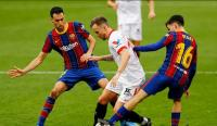 Gol Dembele Bawa Barcelona Unggul atas Sevilla di Babak Pertama