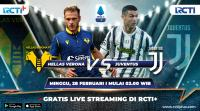 Saksikan Live Streaming Hellas Verona vs Juventus di RCTI+