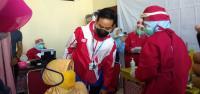 Tepati Janji Langsung Kerja Usai Dilantik, Gibran Pantau Vaksinasi Covid-19 Pedagang