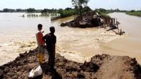 Tanggul Sungai Cipanas Jebol, 5 Desa Banjir hingga 1 Meter