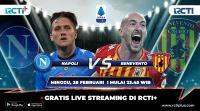 Live Streaming Napoli vs Benevento Bisa Disaksikan di RCTI+