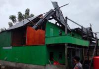 Puluhan Rumah Warga Pesisir Pangkep Rusak Diterjang Puting Beliung