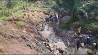 Ratusan Rumah di Desa Setiawaras Tasikmalaya Rusak Akibat Tanah Bergerak