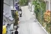 Viral Video Jambret di Bandung, Korban Mengejar hingga Terseret Motor Pelaku