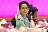 Kudeta Myanmar, Aung San Suu Kyi Muncul di Pengadilan Pertama Kalinya