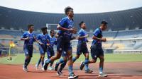 Jelang Tampil di Piala Menpora 2021, Fisik Skuad Persib Bandung Digeber