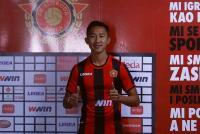 FK Sloboda Tuzla Resmi Perkenalkan Miftah Anwar Sani sebagai Pemain Baru