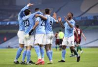 Dibantu Gol Bunuh Diri, Man City Unggul 1-0 atas Wolverhampton di Babak Pertama
