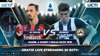 Saksikan Live Streaming AC Milan vs Udinese di RCTI+