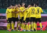 Hajar Monchengladbach 1-0, Borussia Dortmund Lolos ke Semifinal DFB Pokal