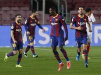 Berkat Dembele, Barcelona Unggul 1-0 atas Sevilla pada Babak Pertama