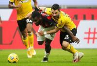 AC Milan vs Udinese Masih Tanpa Gol di Paruh Pertama