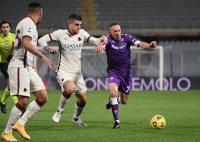 Gol Telat Diawara Bikin AS Roma Tumbangkan Fiorentina
