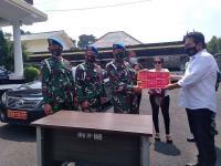Denpom Serahkan Kasus Mobil Berpelat TNI Bodong ke Polrestabes Bandung