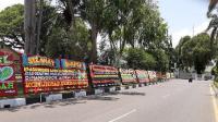 Kinerja Gubernur Dinilai Bagus, Pemprov Aceh Banjir Karangan Bunga Ucapan Selamat