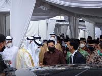 Gibran Harap Masjid Agung Sheikh Zayed Mampu Mengangkat Derajat Keimanan Umat Islam