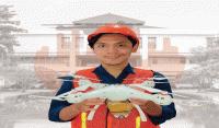 Drone Erasty Ciptaan 4 Mahasiswa ITS untuk Kurangi Kecelakaan Kerja