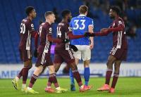 Leicester City Menang Dramatis 2-1 atas Brighton & Hove Albion