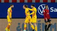 Lewat Gol Jordi Alba Barcelona Ungguli Osasuna di Babak Pertama