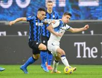 Inter Milan vs Atalanta Sama Kuat di Paruh Pertama