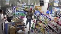 Terekam Kamera CCTV, Perampok Minimarket di Palembang Terkapar Ditembak Petugas