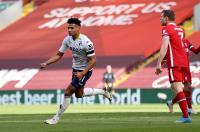 Gol Firmino Dianulir, Liverpool Tertinggal 0-1 dari Aston Villa pada Babak Pertama