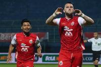 Gol Tunggal Marko Simic Antar Persija Jakarta Tembus Semifinal Piala Menpora 2021