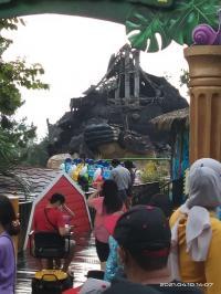 Batu Secret Zoo Rusak Parah Dihantam Gempa Malang