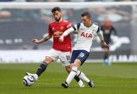 Man United Tertinggal dari Tottenham di Babak Pertama