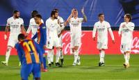 Real Madrid Unggul 2-0 atas Barcelona di Babak Pertama