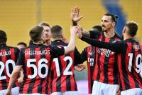 Zlatan Ibrahimovic Kartu Merah, AC Milan Bungkam Parma 3-1