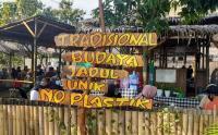 Lagu Indonesia Raya Berkumandang di Pasar Ini Sebelum Memulai Transaksi Jual-Beli