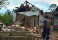 Pembangunan Rumah Rusak Imbas Gempa Malang Dimulai Pekan Ini