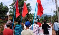 Para Aktivis di Myanmar Gelar Protes
