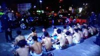 Balapan Liar saat Jam Sahur, Belasan ABG Ditangkap Polisi
