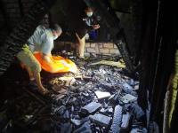 Janda Seorang Diri Ditemukan Tewas Terpanggang Usai Rumahnya Terbakar